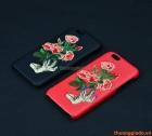 """Ốp lưng da thêu hoa cho iPhone 6S, iPhone 6 (4.7"""")"""