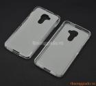 Ốp lưng silicone Blackberry DTEK60 màu trắng đục (TPU soft case)
