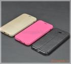 Bao da Samsung Galaxy. A7 (2017)/ Samsung A720 flip leather case (hiệu X-Level)