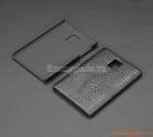 Ốp lưng nhựa giả da cá sấu cho Blackberry Passport Q30 (màu đen)
