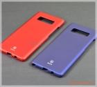 Ốp lưng Samsung Note 8/ N950 (mặt lưng phủ chống trơn, hiệu Baseus, Thin case)