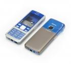 Vỏ Nokia 6300 màu xanh dương+coffee