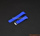 Dây đeo tay thay thế cho đồng hồ Samsung Gear Fit 2 R360 màu xanh dương