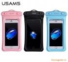 """Túi chống nước cho điện thoại,hiệu USAMS,Note 5,iPhone 7 Plus (5.5""""),OPPO F3 Plus"""