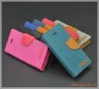 Bao da flip cover iPhone 5/ iPhone 5s/ iPhone SE (hiệu GOOSPERY/ CANVAS DIARY)