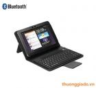 "Bàn phím bluetooth Samsung P7300/ Galaxy Tab 8.9"" kèm bao da book cover"