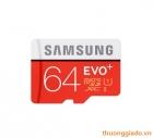 Thẻ nhớ Samsung microSDXC 64GB UHS-I EVO Plus Chính Hãng(Tốc độ đọc 80MB/s),G935