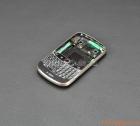 Thay vỏ BlackBerry Bold 9900 màu đen viền trắng bạc Original Housing