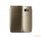 Bao Da Samsung Galaxy S7 Edge NG935 Clear View Cover Màu Vàng Gold Chính Hãng