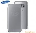 Bao da Clear view cover Samsung Galaxy S7 G930 chính hãng màu bạc