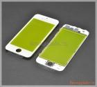 Thay mặt kính (ép kính) màn hình iPhone 5 màu trắng (có sẵn gioăng)