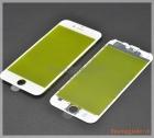 Thay mặt kính (ép kính) màn hình iPhone 6 màu trắng(có sẵn gioăng nhựa)