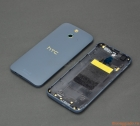 Thay thế nắp lưng (nắp đậy pin, vỏ) HTC One E8 bản 2 sim, màu trắng Xanh ghi