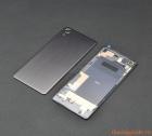 Nắp lưng (nắp đậy pin) Sony Xperia XP màu xám chính hãng