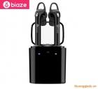 Tai nghe Bluetooth Biaze D18 (tai đôi, kết nối)
