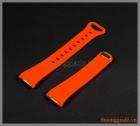 Dây đồng hồ Samsung Gear Fit 2 R360 màu cam (chất liệu cao su)