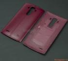 Nắp lưng (nắp đậy pin) LG G4 F500 Màu đỏ mận (Nhựa giả da)