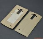 Nắp lưng (nắp đậy pin) LG G4 F500 Màu trắng kem (Nhựa giả da)
