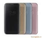 Bao da CLEAR VIEW COVER SAMSUNG GALAXY. A7 (2017) chính hãng, Samsung A720