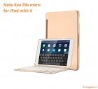 F8s mini+ for iPad mini 4_bàn phím không dây (có đèn bàn phím)