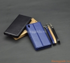 """Bao da flip case Sony Xperia XA (5.0""""), CANVAS DIARY, HANMAN"""