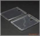 Ốp lưng silicone BlackBerry Passport Q30 (loại siêu mỏng trong suốt, ultra thin Case )