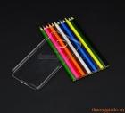 Ốp lưng nhựa cứng trong suốt cho Blackberry DTEK60