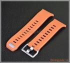 Dây đồng hồ smart watch Fitbit Ionic (cao su, màu nâu sáng)