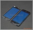 Thay mặt kính (ép kính) màn hình iPhone 5s màu đen (có sẵn gioăng nhựa)