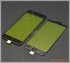 Thay kính (ép kính) iPhone  6s Plus màu đen (có sẵn gioăng nhựa)