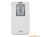 Bao Da LG G2 QuickWindow Case CCF-240G Màu Trắng Chính Hãng, LG D802