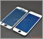 Thay kính (ép kính) màn hình iPhone 6s màu trắng(có sẵn gioăng nhựa)