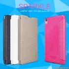 "Bao da flip case Sony Xperia XA (5.0""), hiệu NillKin, Sparkle Series"