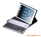 Bàn phím bluetooth iPad Air, iPad Air 2, iPad Pro 9.7 (smart keyboard) kèm bao da book cover