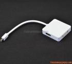 Cáp chuyển đổi từ 1 đầu Mini Displayport sang 3 đầu (DVI-HDMI-Displayport)