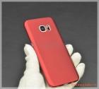 Ốp lưng nhựa cứng Samsung S7 Edge/ G935 màu đỏ, Touch Series