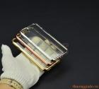 """Ốp lưng silicon iPhone 7 (4.7""""), viền mạ màu sắc, hiệu GOOSPERY"""