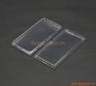 Ốp lưng silicone Sony Xperia X Compact, X mini (loại siêu mỏng, ultra thin soft case)