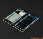 Thay vành viền Bracket ôm quanh mặt màn hình LCD Sony Xperia C5 Màu Đen