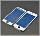 Thay mặt kính (ép kính) màn hình iPhone 5s màu trắng (có sẵn gioăng nhựa)