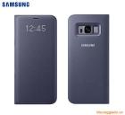 Bao da Samsung Galaxy S8+/ S8 Plus/ G955 Led View Cover chính hãng (màu tím Violet)