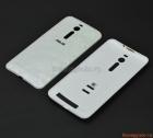 """Nắp lưng (nắp đậy pin) Asus Zenfone 2 5.5"""" ZE551 Màu trắng (vân nổi kim cương)"""