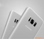 Ốp lưng Samsung Galaxy S8 Plus/ G955, ốp nhựa trắng mờ hiệu Baseus
