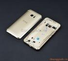Thay vỏ HTC M10 màu vàng champagne