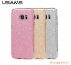 Ốp lưng Samsung Galaxy S7 Edge G935 (loại silicone kim tuyến, hiệu USAM)