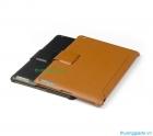 Bao Da iPad 2  (Hiệu HOCAR) Leather Case