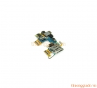 Thay bo mạch ổ sim+camera trước+phím bật tắt nguồn+cảm biến ánh sáng HTC 8X