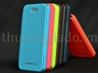 Bao Da iPhone  5C ( Hiệu Mercury.Techno Series, Flip Cover )
