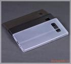 Ốp lưng Samsung Note 8/ N950 (nhựa cứng siêu mỏng, hiệu Baseus, Wing case)