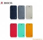 Bao Da iPhone 5S-iPhone 5 - Hoco-Star Series-Leather Case